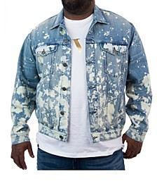 Men's Big & Tall MVP Collections Denim Trucker Jacket