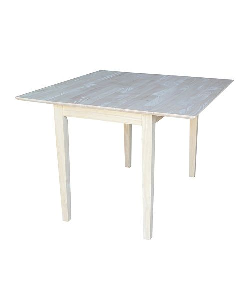 WHITEWOOD INDUSTRIES/INTNL CONCEPTS International Concepts Dual Drop Leaf Dining Table - Square