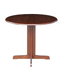 "International Concepts Dual Drop Leaf Table - 36"""