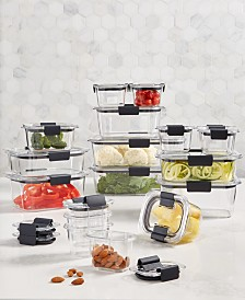 Rubbermaid Brilliance 36-Pc. Container Set