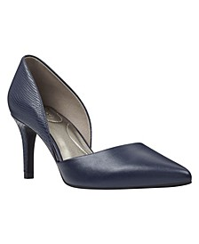 Grenow Pointy Toe D'Orsay Pumps