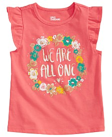 Epic Threads Toddler Girls All One-Print T-Shirt, Created for Macy's