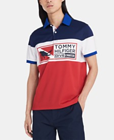 Tommy Hilfiger Men's Custom Fit Cohen Polo