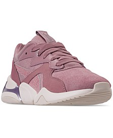 Women's Nova Pastel Grunge Casual Sneakers from Finish Line
