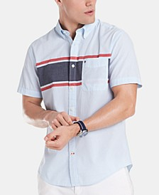 Men's Quine Engineered Stripes Shirt