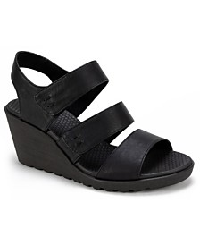 Cliffs by White Mountain Erin Strappy Wedge Sandals