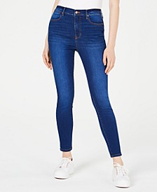 Juniors' High-Rise Ankle Skinny Jeans
