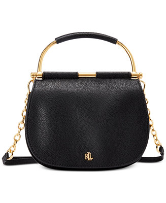 Mason Pebbled Leather Satchel by General
