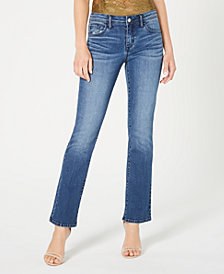 GUESS Mid-Rise Bootcut Jeans