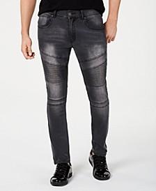 INC Men's Moto Skinny Jeans, Created for Macy's