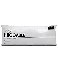 "Natural Elements I Am Huggable 20"" x 54"" Body Pillow"