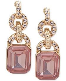 Lauren Ralph Lauren Stone & Crystal Drop Earrings