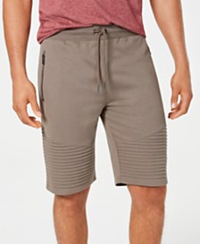 I.N.C. Men's Remix Knit Shorts, Created for Macy's