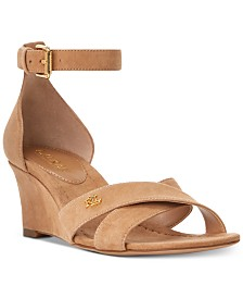Lauren Ralph Lauren Erinn Wedge Sandals