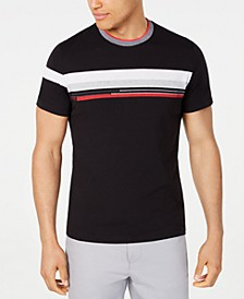 Men's Colorblocked Stripe T-Shirt, Created for Macy's