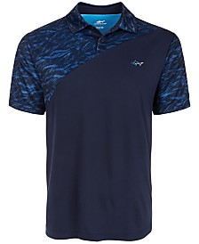 Attack Life by Greg Norman Men's Colorblocked Polo
