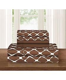 Elegant Comfort Bloomingdale 6-Piece Wrinkle Free Sheet Set Queen