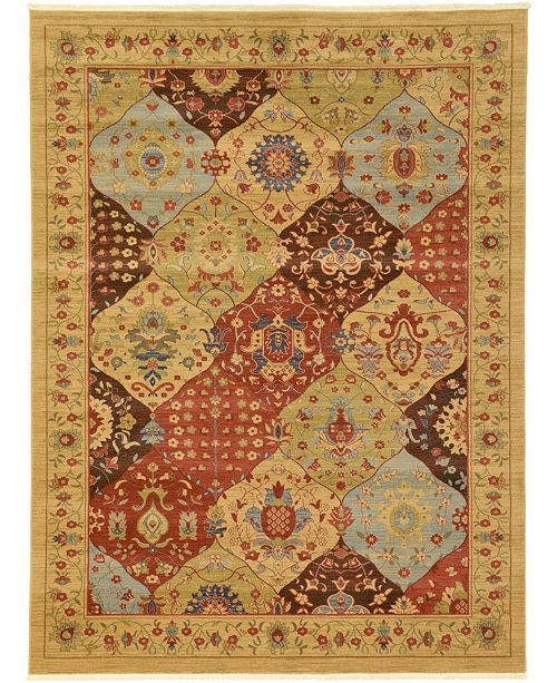 Bridgeport Home Orwyn Orw1 Tan 9' x 12' Area Rug