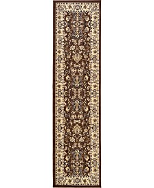 "Bridgeport Home Arnav Arn1 Brown 2' 7"" x 10' Runner Area Rug"
