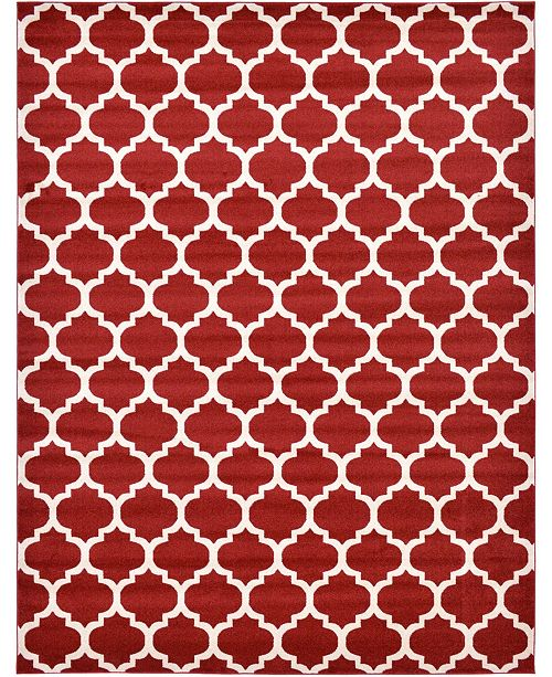 Bridgeport Home Arbor Arb1 Red 10' x 13' Area Rug