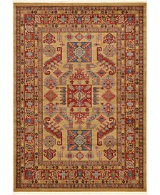 Bridgeport Home Harik Har1 Beige 7' x 10' Area Rug