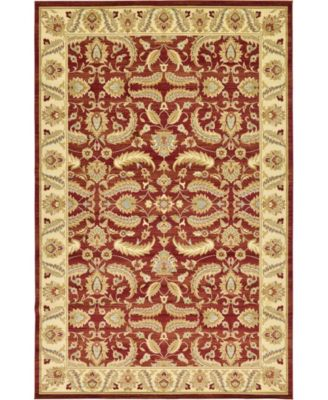 "Passage Psg1 Red 10' 6"" x 16' 5"" Area Rug"