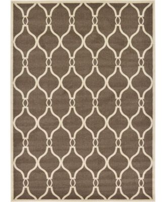 Arbor Arb6 Brown 7' x 10' Area Rug