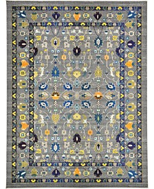 Bridgeport Home Sana San5 Gray 9' x 12' Area Rug