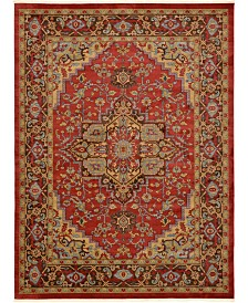 Bridgeport Home Harik Har1 Red 10' x 13' Area Rug