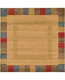 Bridgeport Home Ojas Oja5 Beige 8' x 8' Square Area Rug