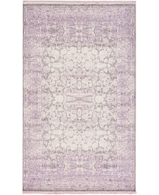 Norston Nor3 Purple 5' x 8' Area Rug