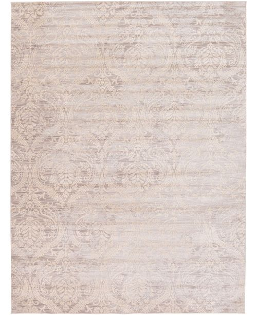 Bridgeport Home Caan Can5 Taupe 9' x 12' Area Rug