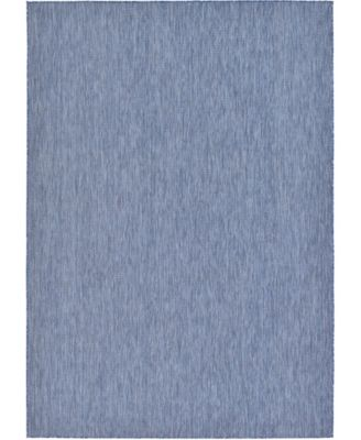"Pashio Pas6 Navy Blue 8' x 11' 4"" Area Rug"