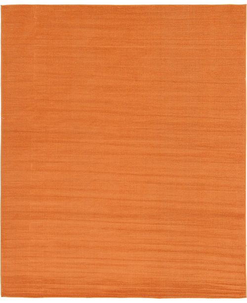 Bridgeport Home Axbridge Axb3 Orange 8' x 10' Area Rug