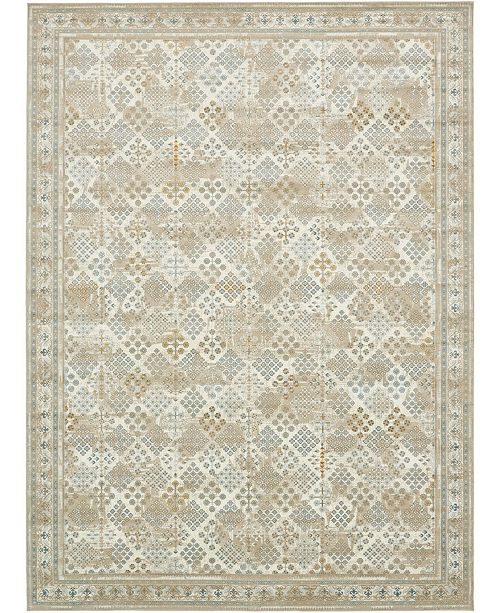 Bridgeport Home Reese Ree6 Beige Round Area Rug Collection