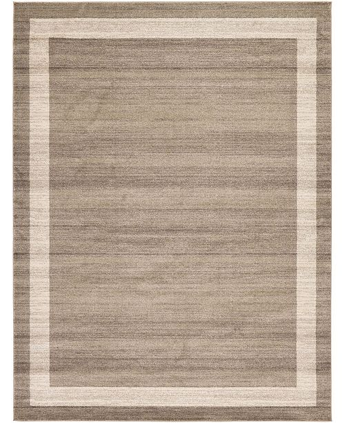 Bridgeport Home Lyon Lyo5 Light Brown 9' x 12' Area Rug