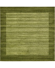 Lyon Lyo4 Light Green 8' x 8' Square Area Rug