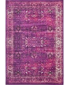 "Linport Lin1 Lilac 8' x 11' 6"" Area Rug"