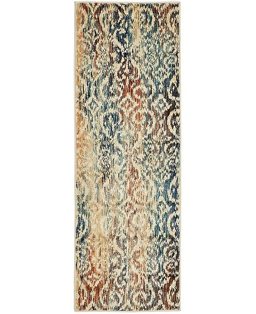 Bridgeport Home Marblesea Mrb1 Beige 2' x 6' Runner Area Rug