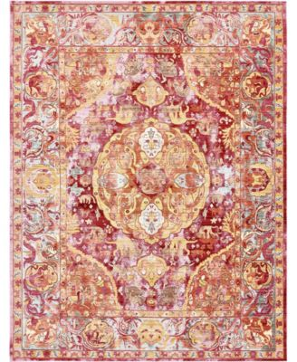 Malin Mal2 Red 9' x 12' Area Rug
