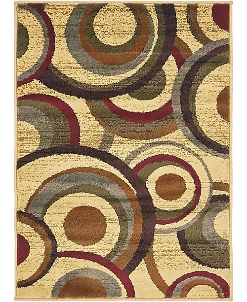 "Bridgeport Home Kallista Kal3 Beige 2' 2"" x 3' Area Rug"