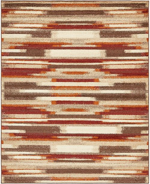 Bridgeport Home Jasia Jas03 Multi 8' x 10' Area Rug
