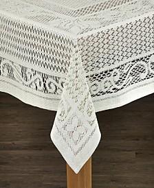 Chantilly Cotton Crochet Tablecloth