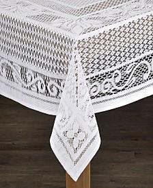 Chantilly 100% Cotton Crochet Tablecloth