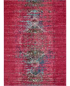 Bridgeport Home Brio Bri6 Pink 9' x 12' Area Rug