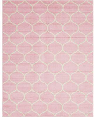Plexity Plx2 Pink 8' x 10' Area Rug