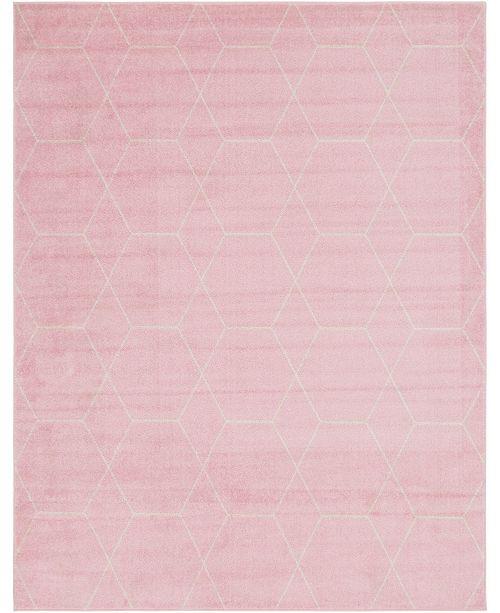 Bridgeport Home Plexity Plx1 Pink 8' x 10' Area Rug