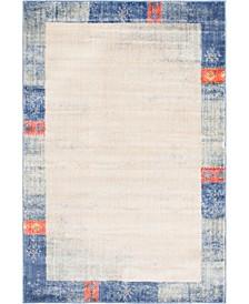 Haven Hav4 Blue 4' x 6' Area Rug