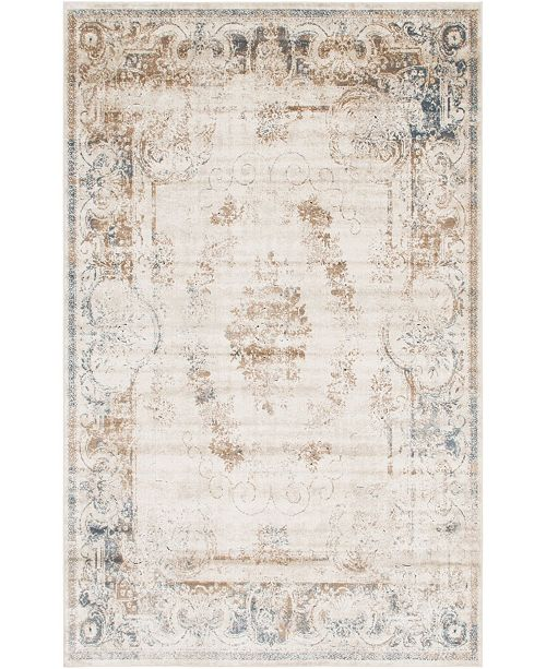 Bridgeport Home Odette Ode6 Beige 6' x 9' Area Rug