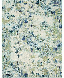 Bridgeport Home Crisanta Crs1 Light Blue 8' x 10' Area Rug